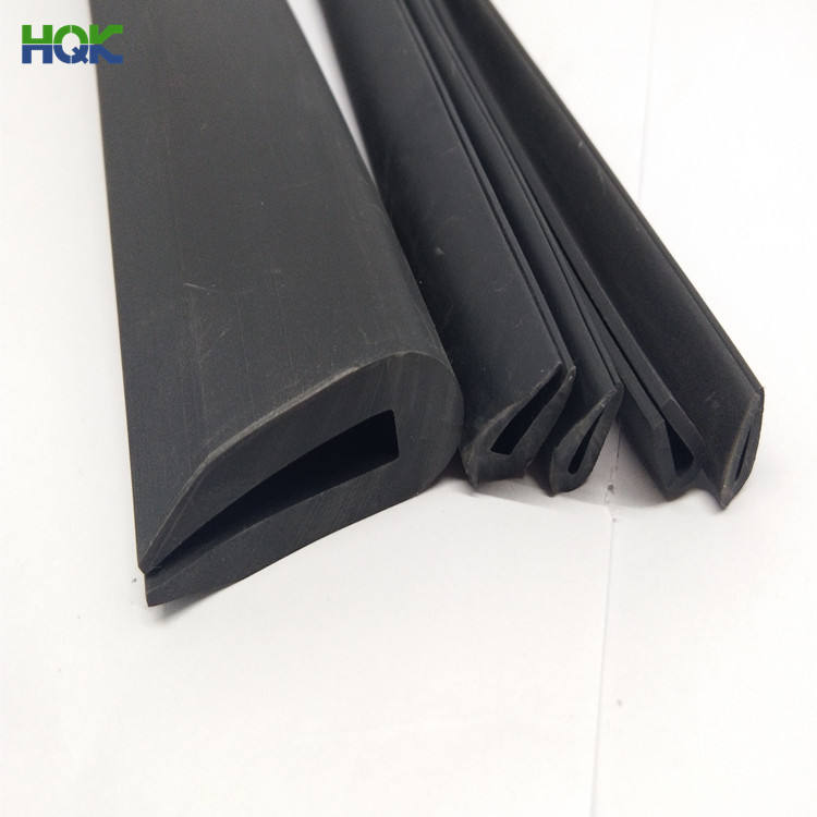 Seal Rubber Strip Extruded U Shape Door Window Flat Silicone Rubber Seal Strip