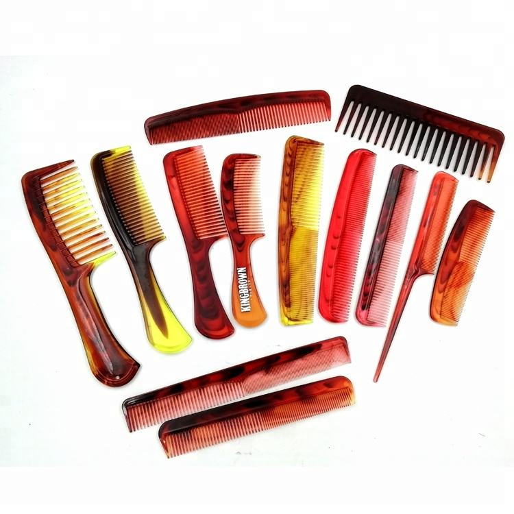 125mm length small hair comb pocket travel beauty hair comb tortoise shell effect custom comb