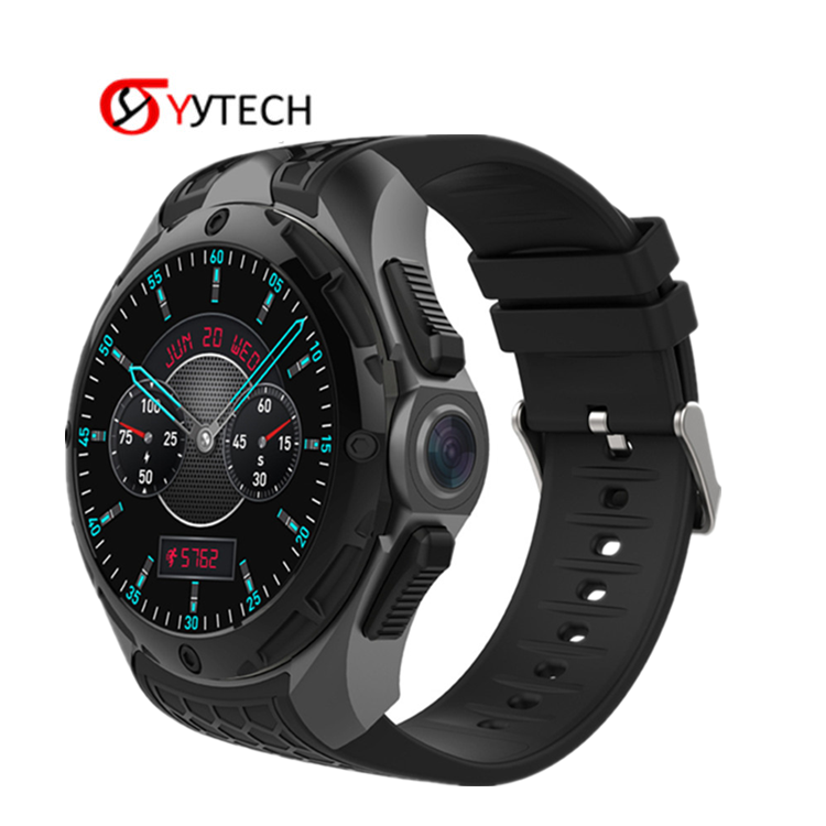 SYYTECH 새 MTK6580 KW68 Smart Watch IP68 방수 3 그램 WIFI GPS 위치 Heart rate monitor Smart Bracelet