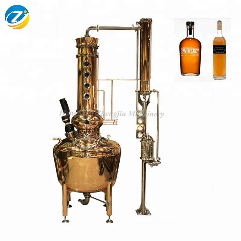 ethanol machine copper pot distillation distilling equipment,alembic copper distillation