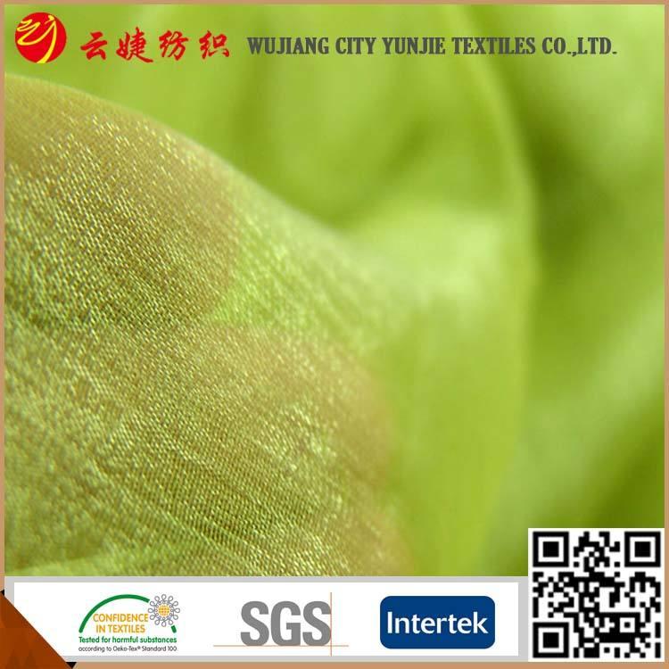Llano teñido de tela de gasa de tela de pana cadeneta
