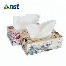 100% Virgin Wood Pulp box facial tissue OEM