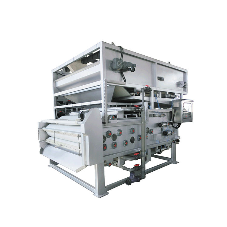 Full Automatic Stainless Steel Treatment Belt Press Filter