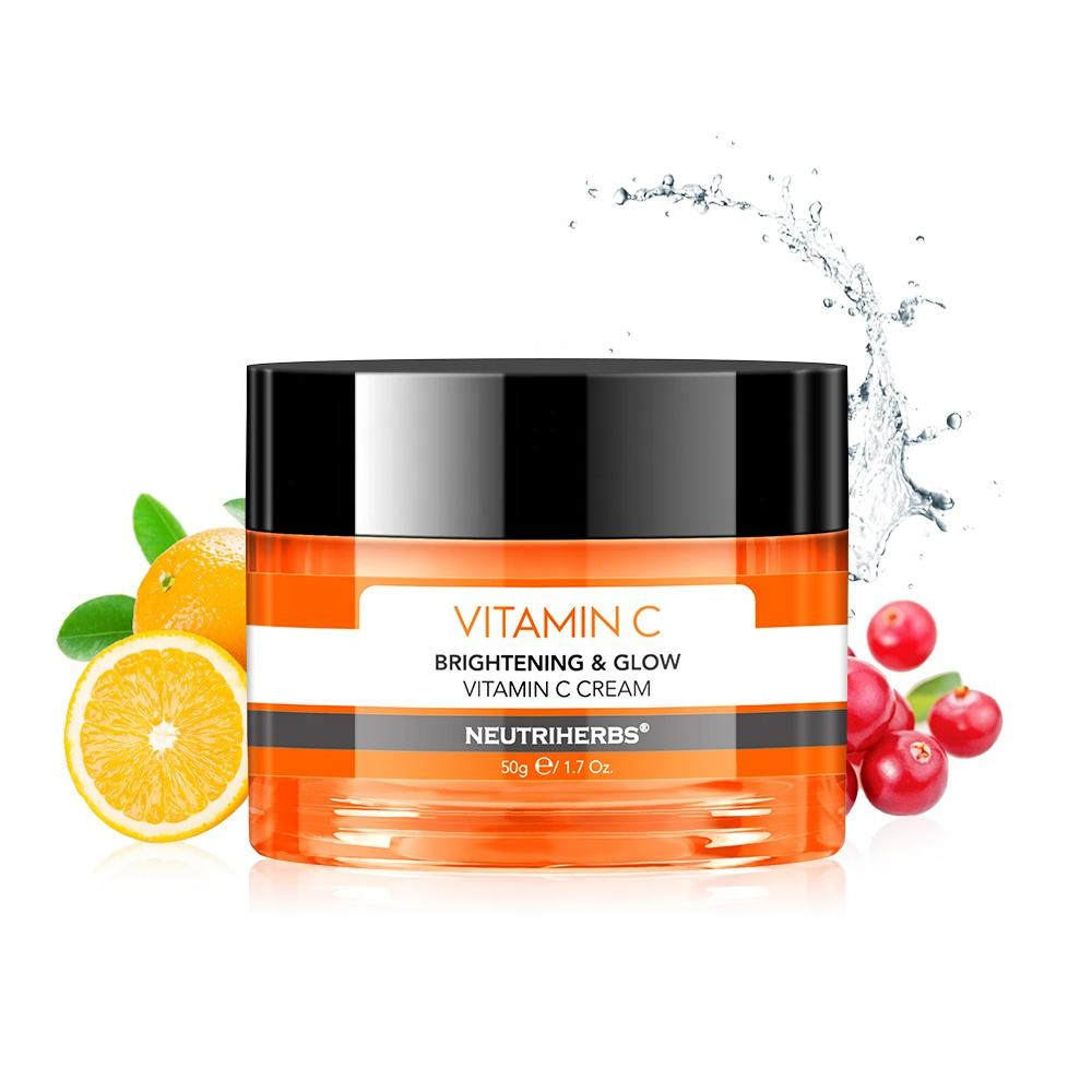 Most Popular Hydrating and brightening beauty whitening product 100% botanical organic skin repair face cream