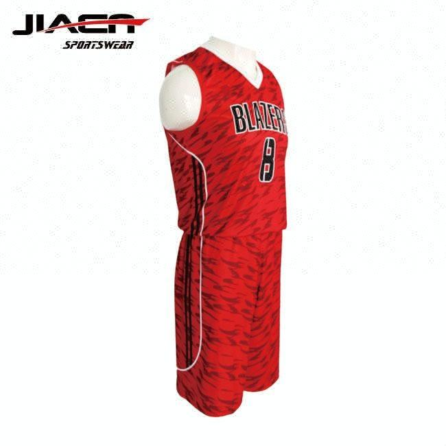sublimated basketball tops/ Sublimation plain basketball uniforms customized personalised basketball jersey