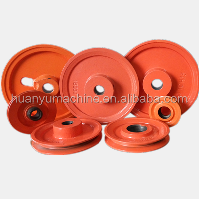 China high quality low price cast iron belt groove pulley for glaze line