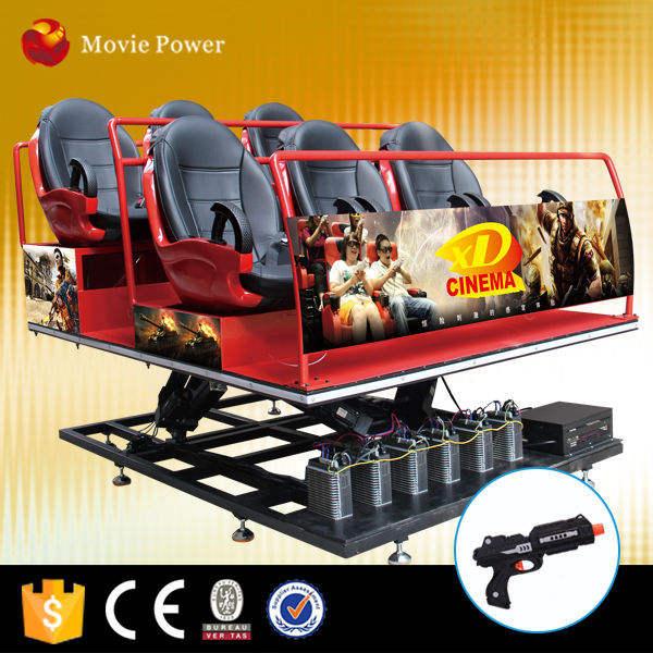 Nuovo Prodotto 7d cinema simulatore 5d xtreme/7d cinema 7d teatri in cina da Film di Alimentazione