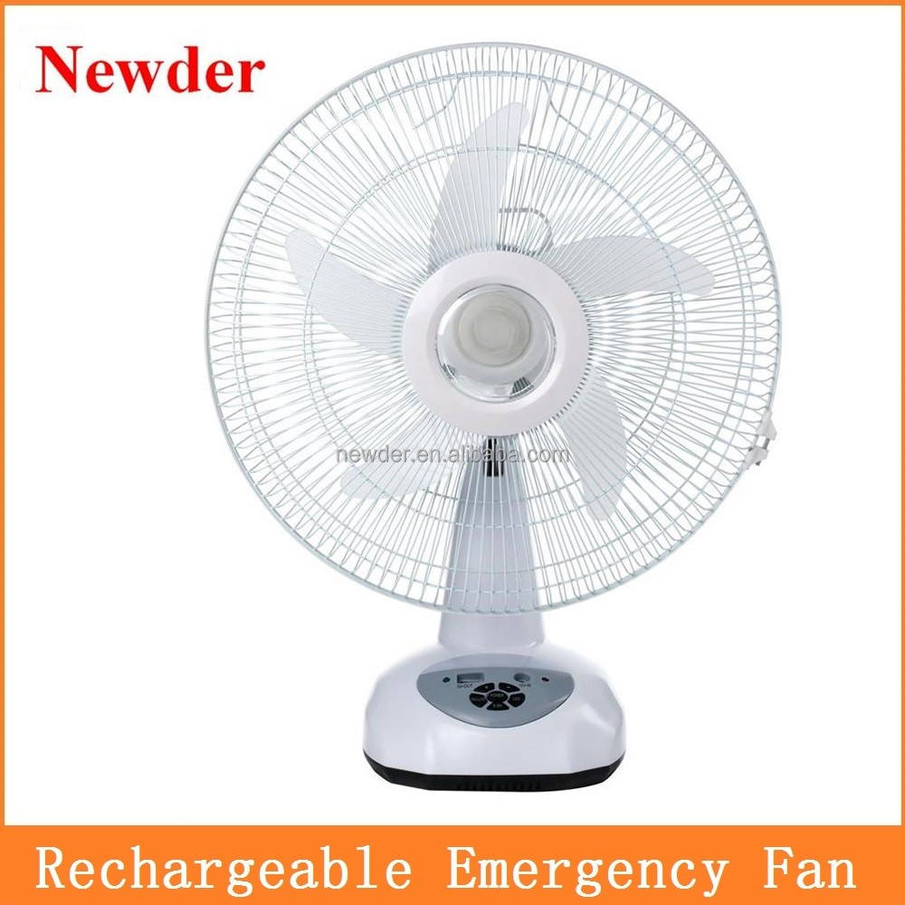 16 inch 9 speed rechargeable fan with Mobile charge Model 016-16