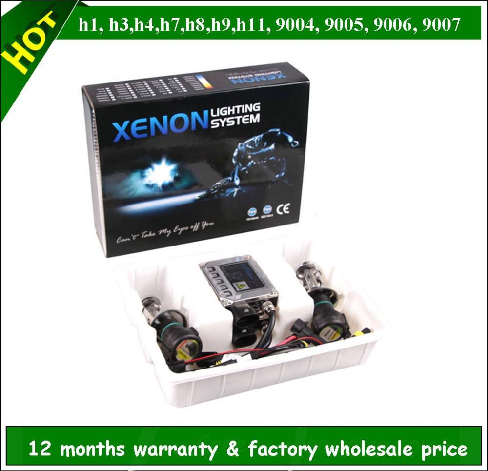 35W CANBUS AC XENON E1 FOG LIGHTS 6000K H11 Slim HID KIT 11-12 FOR HONDA CR-Z