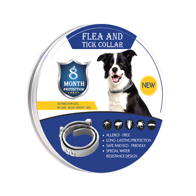 Amazon Hot Selling 8 Months Flea And Tick Collar for Dogs Cat Flea Collar