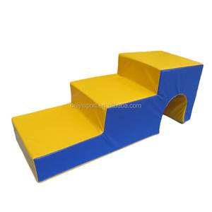 Children foam steps for gym play and climbing