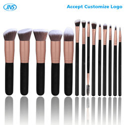 14pcs Crystal Handle Makeup Brush Set/Custom Logo Make Up Brushes/Private Label Make Up Brushes