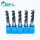 BFL Solid Carbide High Precision Flat Milling Cutter , Square Milling Tool