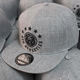 Different Color Grey Snapback, Acrylic Wool Snapback Cap, Embroidery your Logo Hats