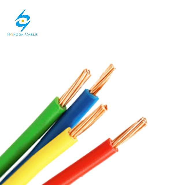 כבל electrico 14AWG 12AWG 10AWG 8AWG 6AWG 4AWG 2AWG TW <span class=keywords><strong>THW</strong></span> THHW דה alambre ASTM סטנדרטי
