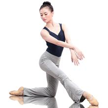Cotton Casual Flare Trousers Ballet Yoga Dance Pants