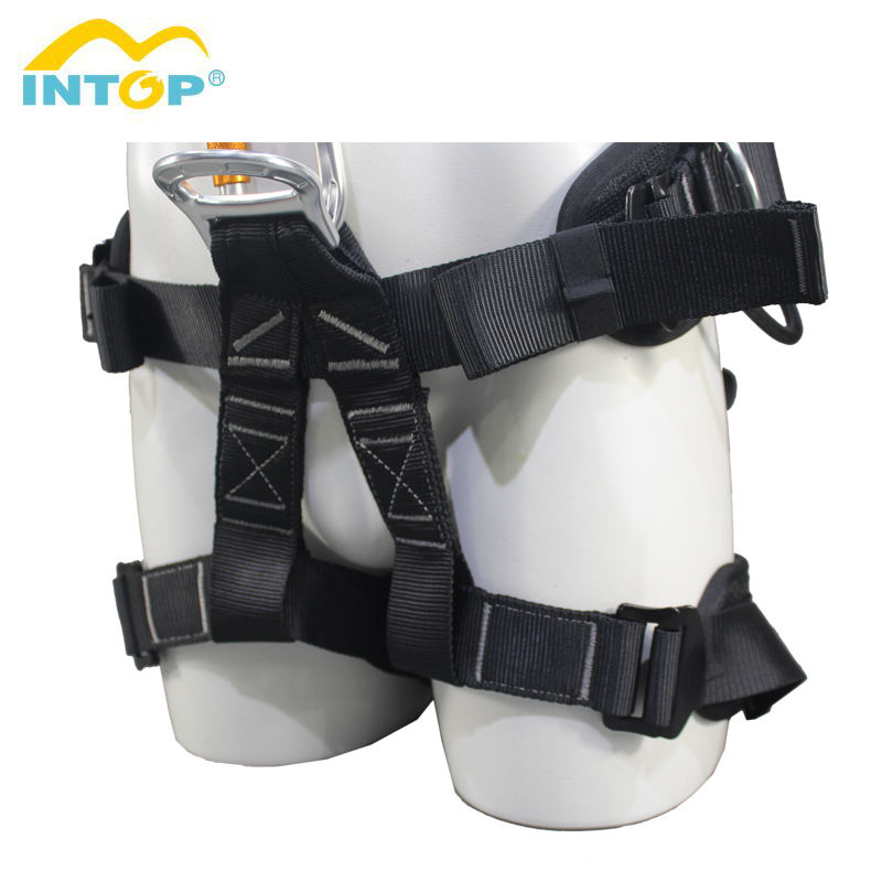 Full Body Harness [ Climbing Harness ] Climbing Harness Belt Intop Professional Customized High Quality Full Body Safety Climbing Harness Belt For Sale