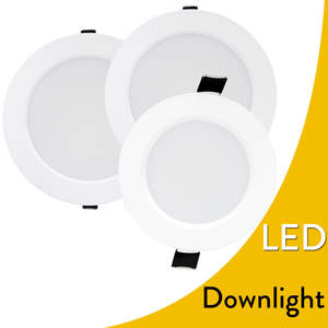 Dimmable 6W 9W 12W 18W 24W LED Recessed Ceiling Down Light Fixture lamp 110V 220V For Indoor Lighting