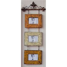 Vintage Wall Hanging Crafts Metal Art Frame