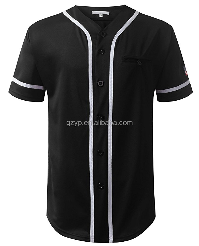 Wholesale custom sublimation digital printing baseball jersey baseball uniform