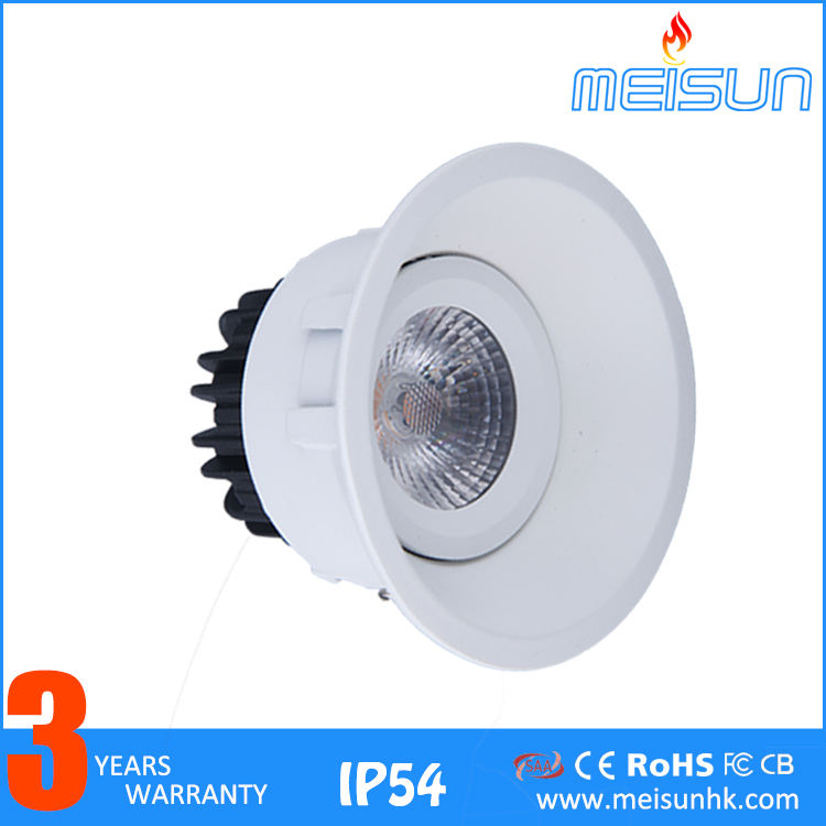 Modern 12v Aluminum Alloy Home Decoration Spot Lighting New Designs 7w 10w 13w 14w 21w Anti-glare Led Ceiling Lamp