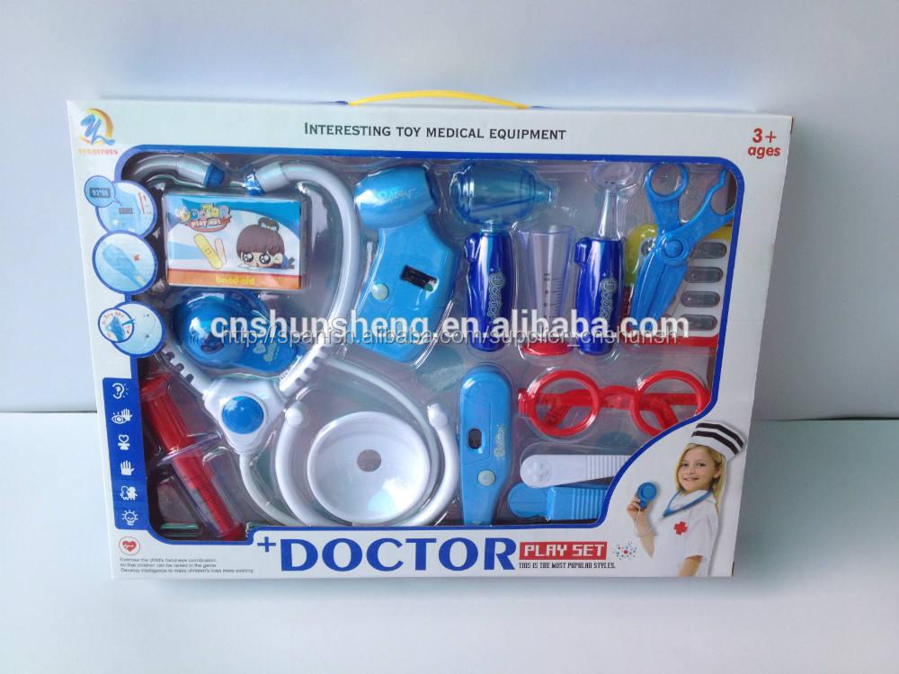 15 doctor pc herramientas de juguete caliente vela de juguetes doctores/médicos