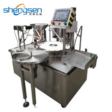 Pure Olive Oil In Glass Bottles Filling And Capping Machine