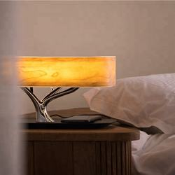 MESUN table lamp for hotel decorative gift wireless charger