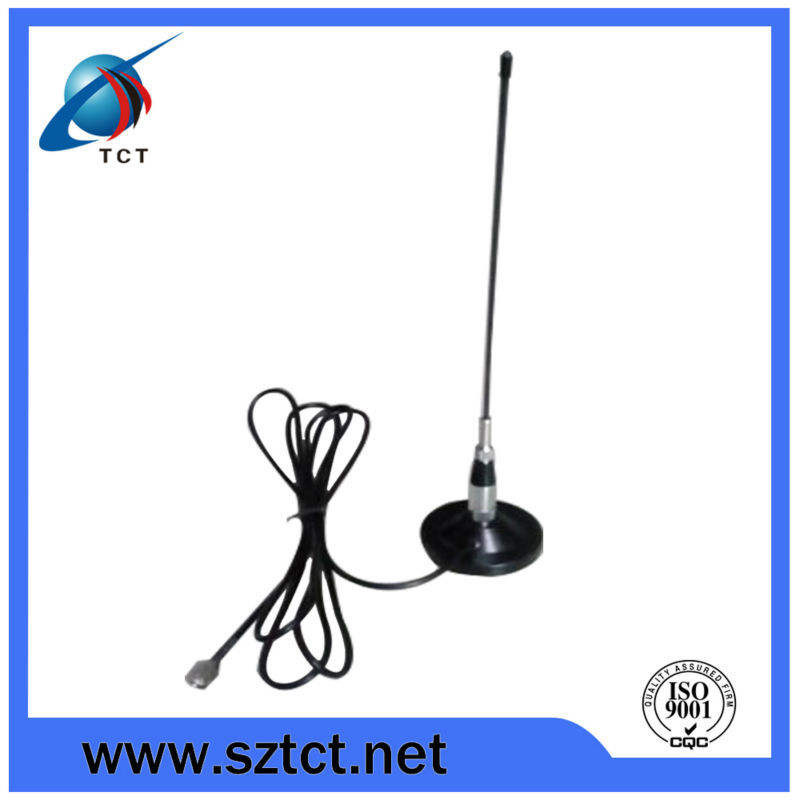 Manufacturer low price vhf fm radio antenna types with magnetic stand