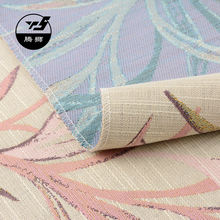 curtain and textile fabric jacquard fabric price per meter yarn dyed sofa fabric