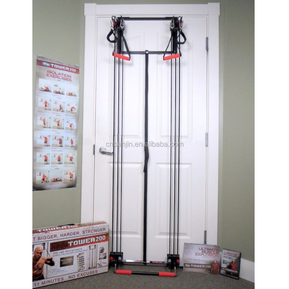 Torre di 200 Resistenza Cavi di Alimentazione Bands Kit 200 £ Home Gym Workout