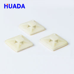 Huada HDS-20 nylon Self Adhesive cable tie mount