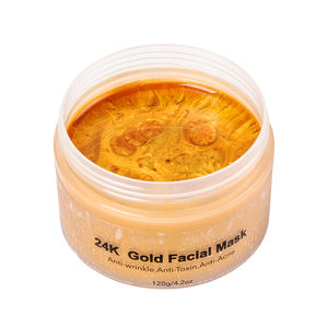 Private Label Hautpflege Gold 24 karat Gold Kollagen Gesicht Maske