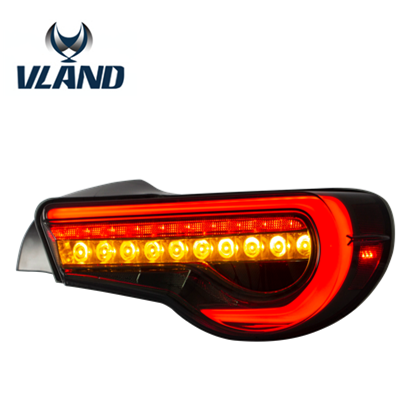 VLAND LED Tail Lamp FOR FT 86 2012-up Tail light Turn signal with Sequential Indicator Rear lamp for BRZ 2013-2015 taillight