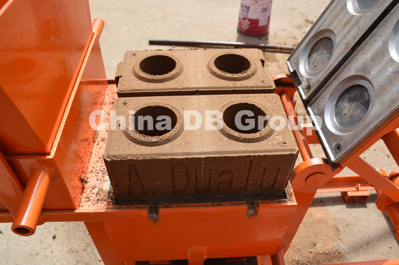 small project clay Lego mud brick maker making machine