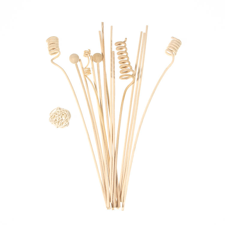 high quality flower gift aroma rattan reed diffuser Wooden Sticks Paper Flower for office