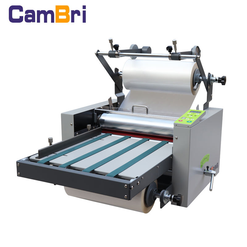 L388 desktop single and double sides heated roll laminator