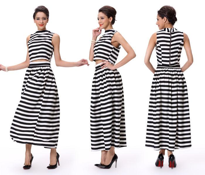 2018 Длинные Длина Простой дизайн для девочек Необычные две части юбки