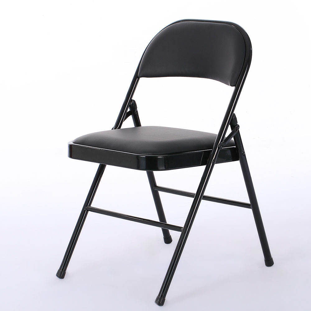 Garden Event Foldable Plastic Chair Portable Lifetime Cheap Outdoor patio furniture black Plastic Folding Chairs