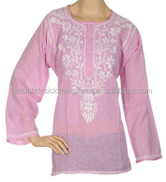 Summer Wear Girls Ladies Trendy Tunics Kurties Online