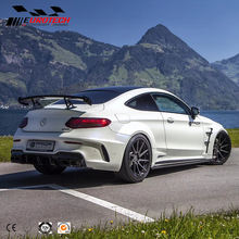 New arrival W205 C63/c class sedan /coupe PD style carbon/ FRP wide body kit for Mercedes 2015-on