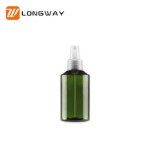 empty dark green pet spray bottle 150ml for perfume