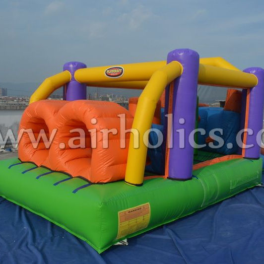 Funny Commercial Jumping Bouncy Castle Combo Inflatable Bounce House For Kids