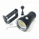 OEM Patent factory Genuine Original High Quality high power rechargeable led flashlight 12000 lumens diving video light