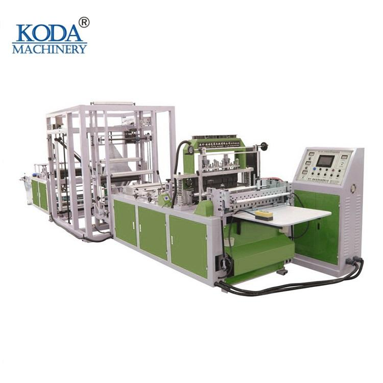 Bag sealing or bag cutting automatic PP non woven bag making machine
