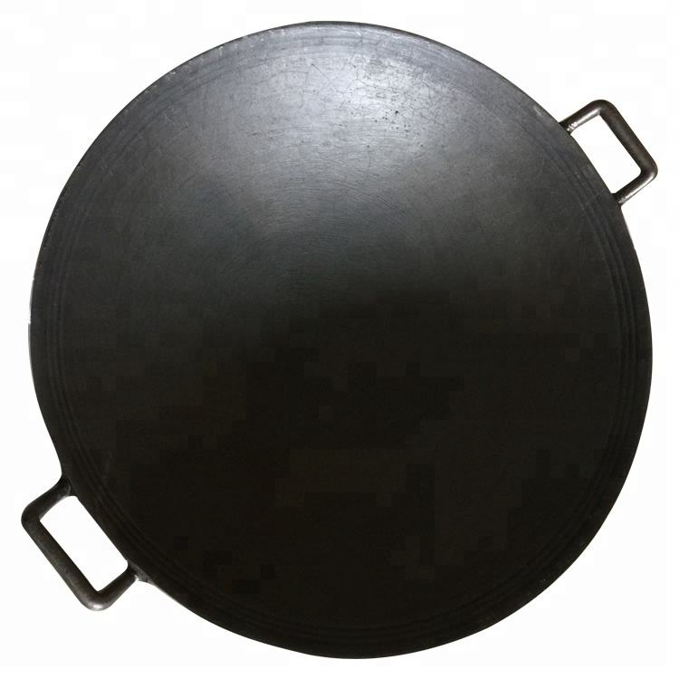 High Quality Chinese Round Cast Iron Cookware Sets non-stick Wok