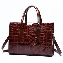 Fashion pu leather hard tote bag for women