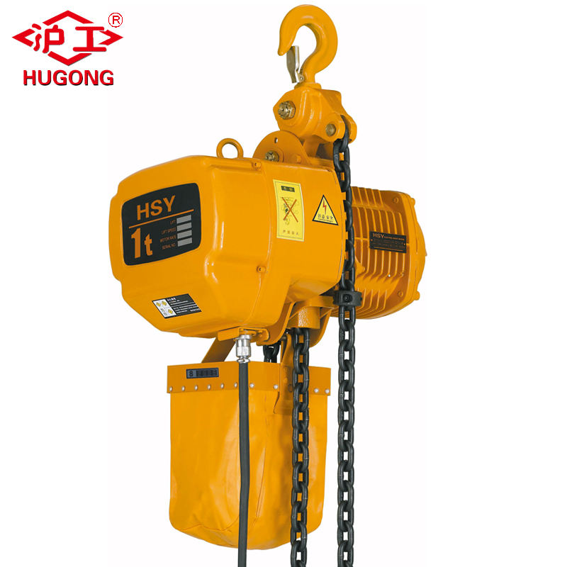 Loading Capacity 1ton Lifting Height 3m Electric Chain Hoist