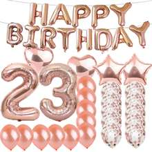 Happy Birthday Decoration Party Supplies  Customized  Amazon Customized 2020 NEW