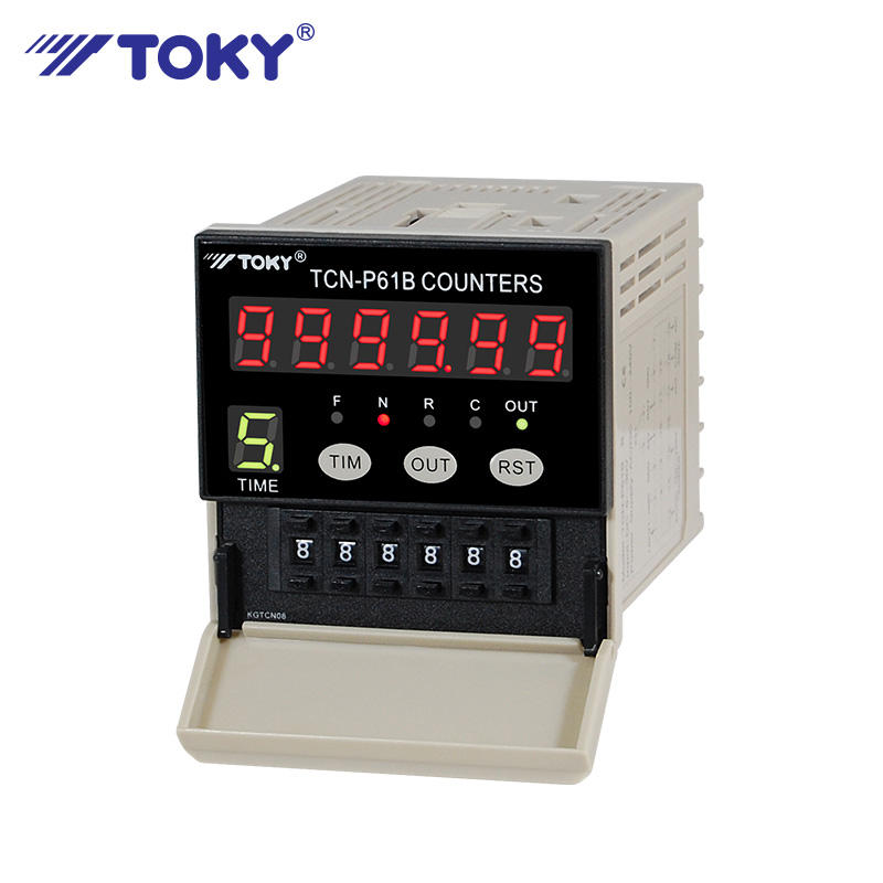 Cable length digital meter counter
